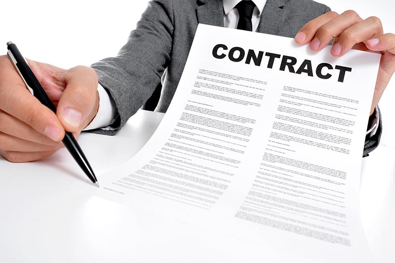 Which elements of the contracts are to be interpreted?